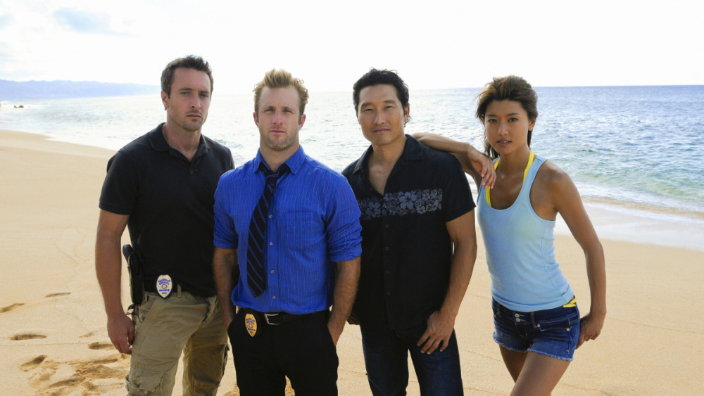 AC CAST HAWAII FIVE O PHOTO CBS NEIL JACOBS