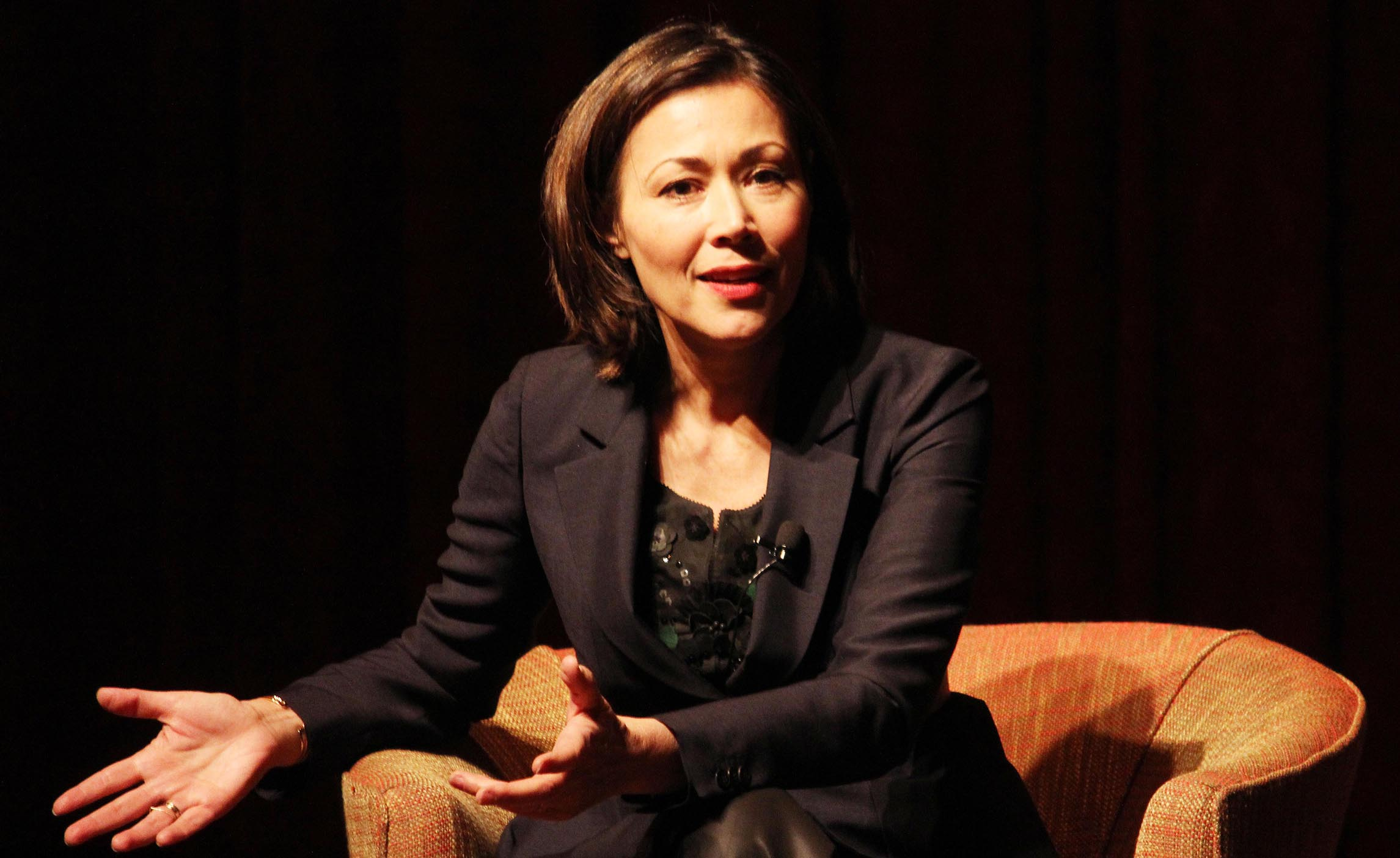Ann Curry Photo by Lia Chang cropped