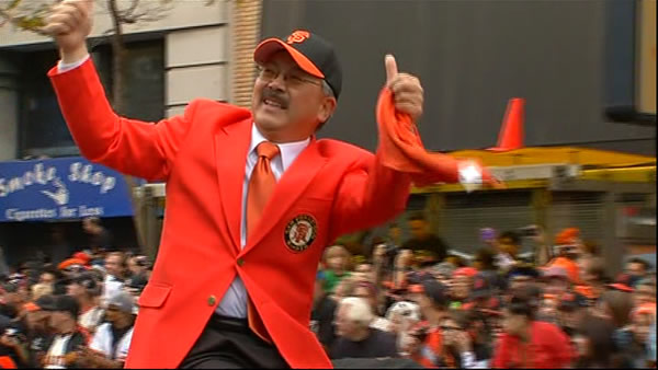 Ed Lee_Giants_motorcade