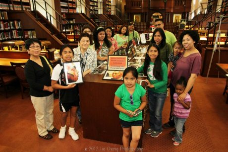 Mabuhay Inc. Culture School students discover books by Filipino authors in the Library of Congress' Asian Division Reading Room