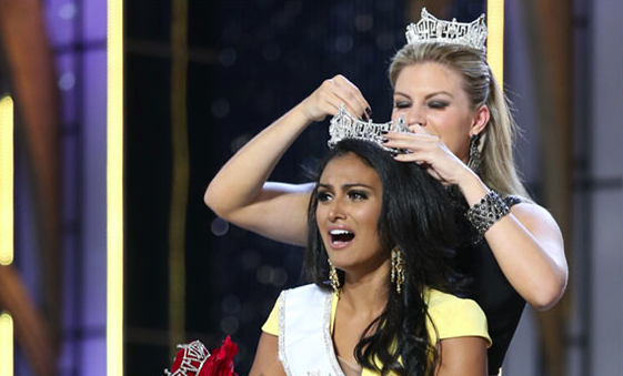 Racist Tweets after Miss America Nina Davuluri is crowned - first Indian-American to win title