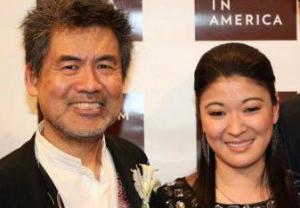 Playwright David Henry Hwang and Actress Jennifer Lim Photo by Lia Chang