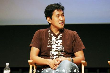 4 Wedding Planners Director Michael Kang speaks at Screen Actors Guild panel in New York Photo by Lia Chang